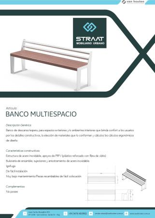 BANCO MULTIESPACIO PLANE